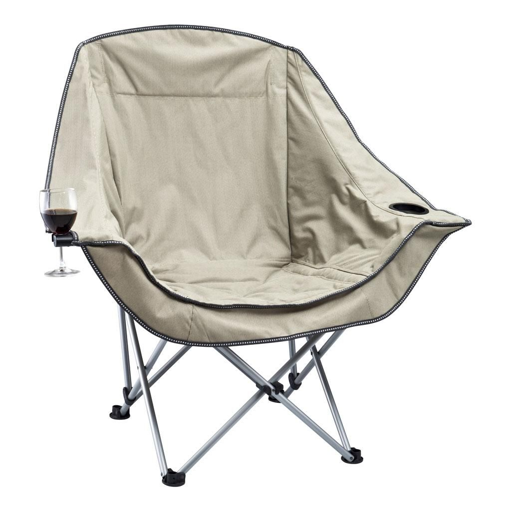 Oztrail Moon Chair Single With Arms