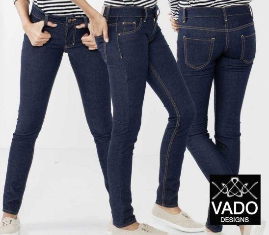 Women\'s Low-Medium Rise Slim Fit Jeans. | Schnittmuster und ...