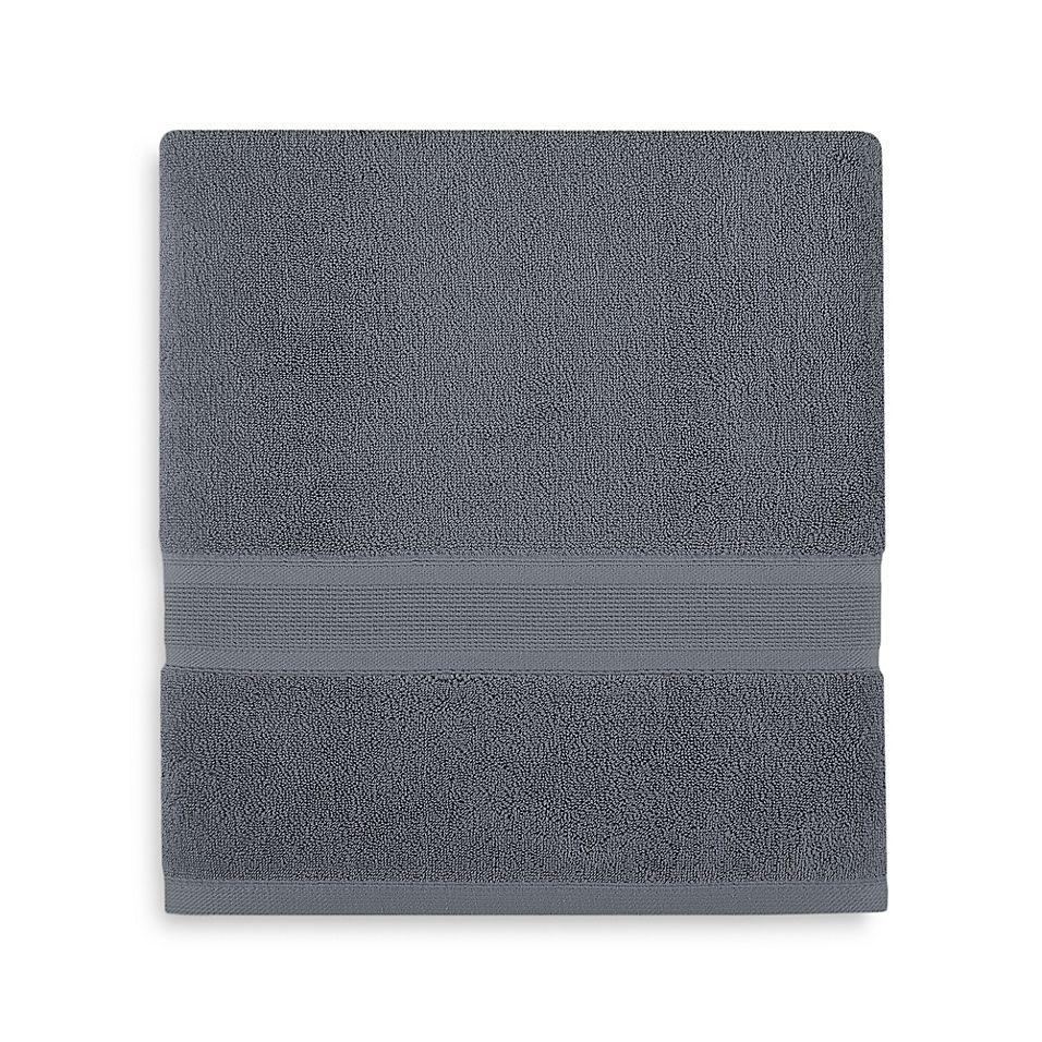 Wamsutta Icon Pimacott Bath Towel In Denim Bath Towels Towel