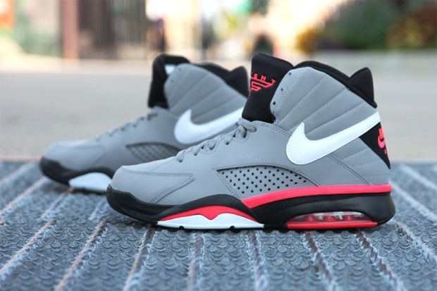 372d729a8988 ... nike air maestro flight grey solar red first donned in 1993 by scottie  pippen at the