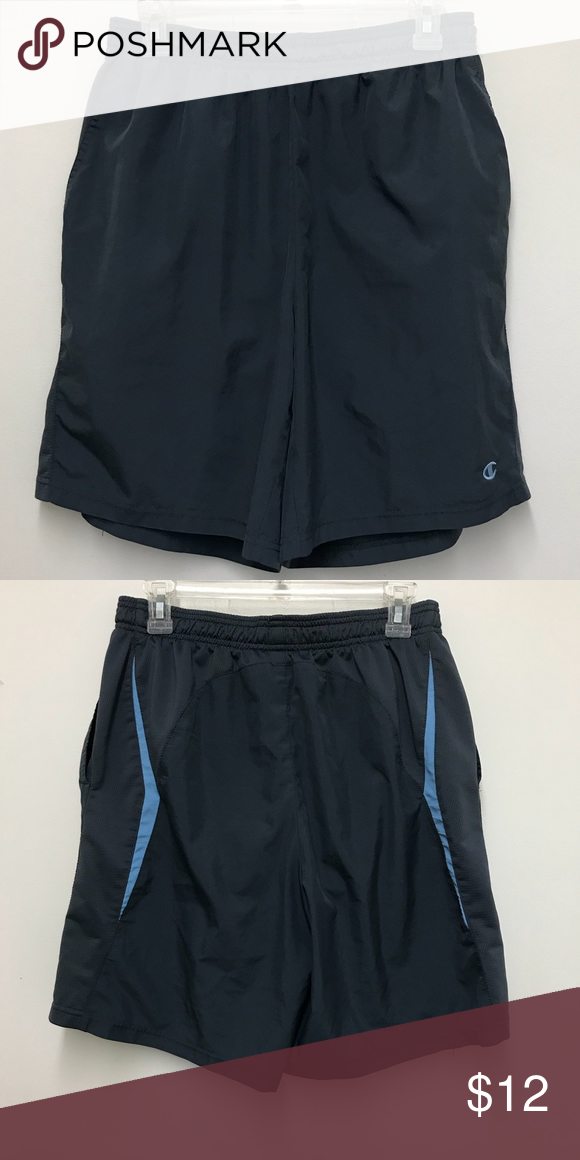 bbadf32094ee6b Champion Men s Running Shorts Champion Men s Running Short with liner.  Medium. 100% Polyester. 2 pockets. In excellent condition. Pre-owned. Champion  Shorts ...