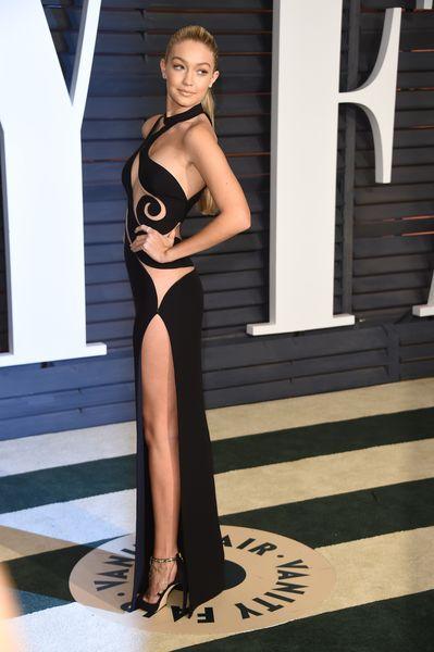 Gigi Hadid at an Oscars Afterparty #fashion