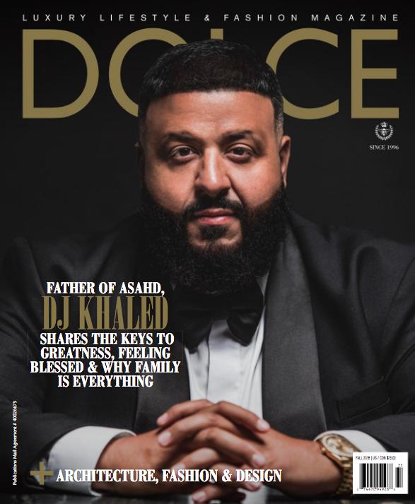 Dj Khaled For Dolce Fall 2018 Dj Khaled Luxury Real Estate Luxury Magazine