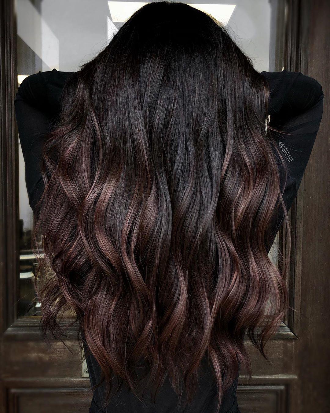 42++ Dark chocolate cherry hair inspirations