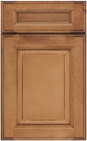 Landen cocoa glaze cabinets cabinets matttroy for Cocoa cabinets