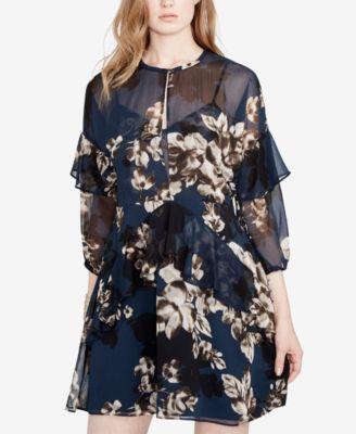 2f2a07b1f RACHEL Rachel Roy Ruffled Keyhole Dress, Created for Macy's - Dresses -  Women - Macy's