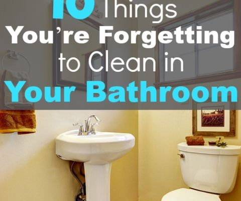 7 Brilliant Bathroom Cleaning Tips Cleaning