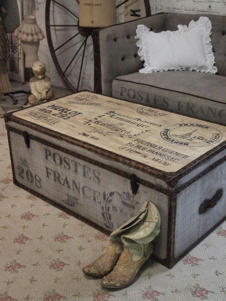 Decorar con ba les estilo y almacenaje para tu hogar - Baules para decorar ...