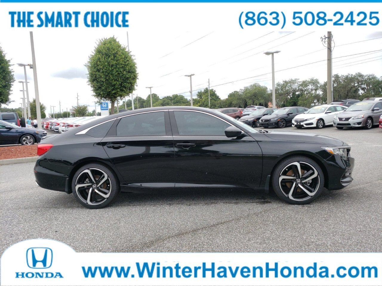 2019 Honda Accord Sedan Sport 1.5T 1HGCV1F35KA103483