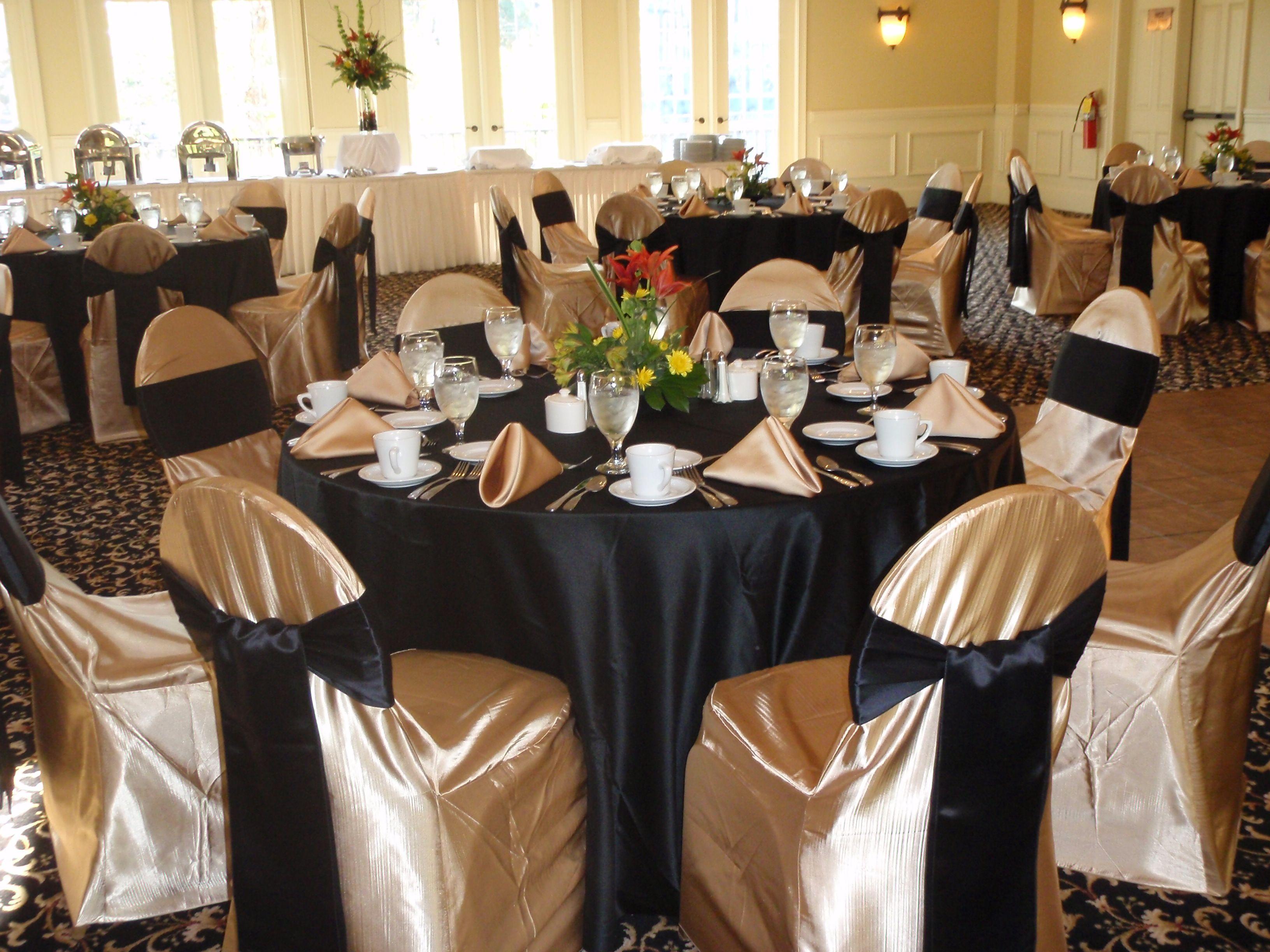 Black and Gold Wedding Reception | Wedding | Pinterest | Gold ...