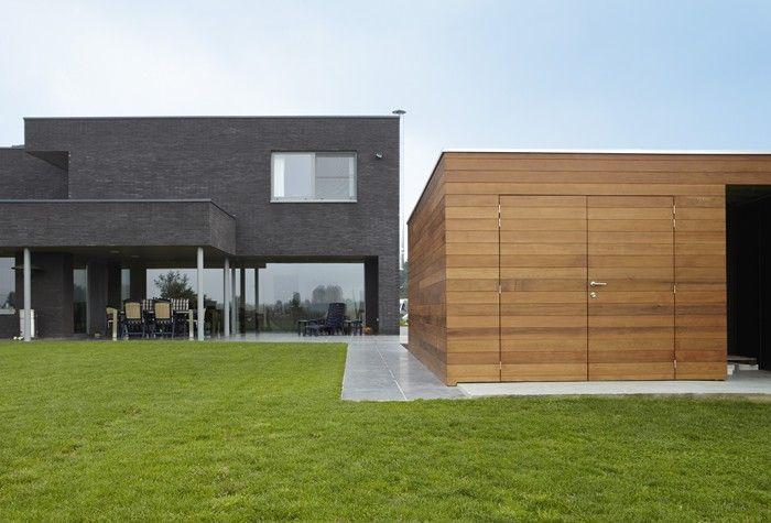 Goede bogarden moderne tuinberging | Tuinhuizen, Zwembad huizen, Tuinhuis QX-61