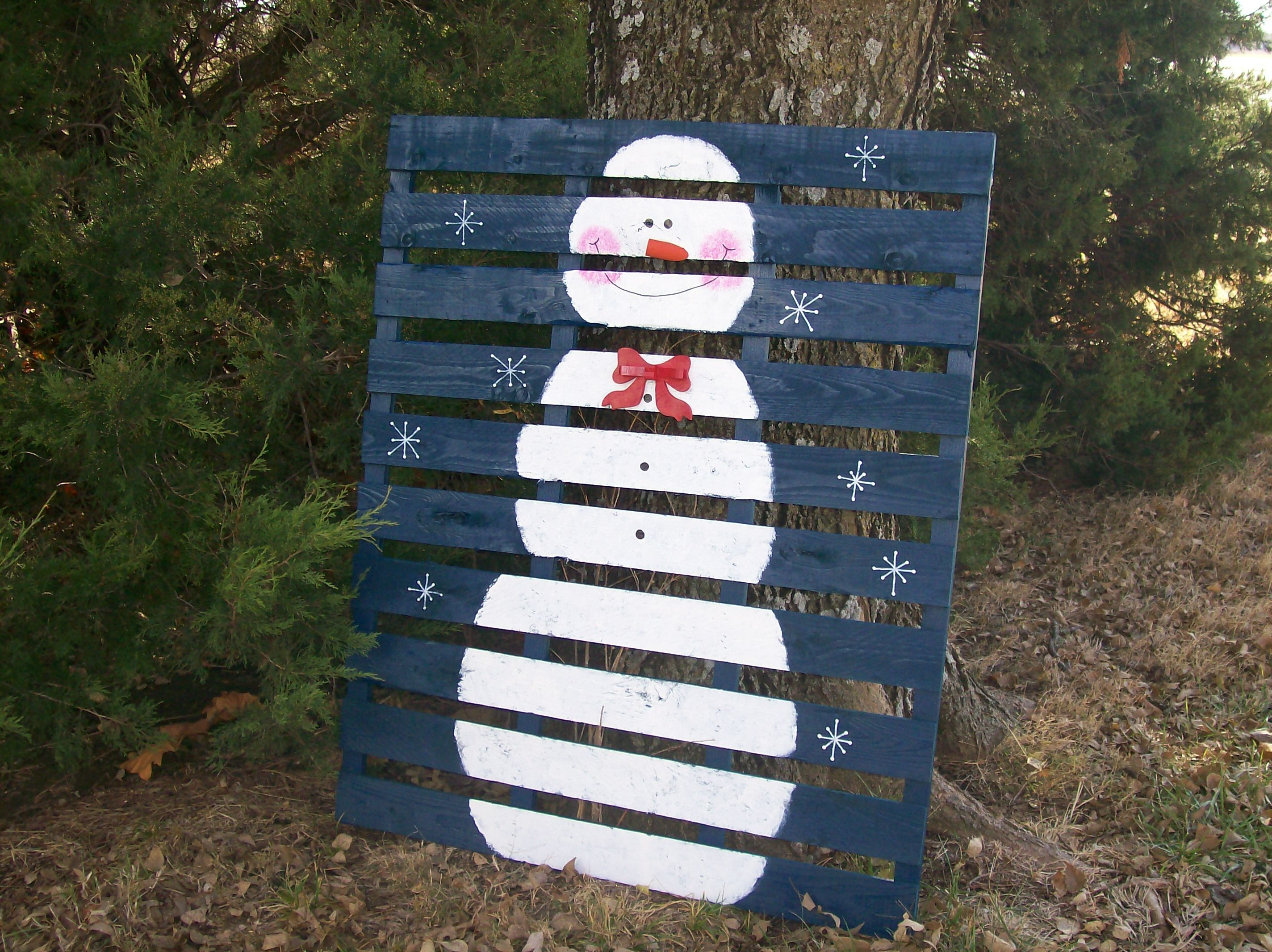 pallett crafts   Christmas All Through The House   Pallet ...