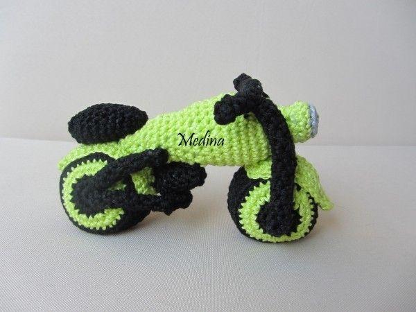 Funny Motorrad Häkelanleitung Jugando Pinterest Crochet