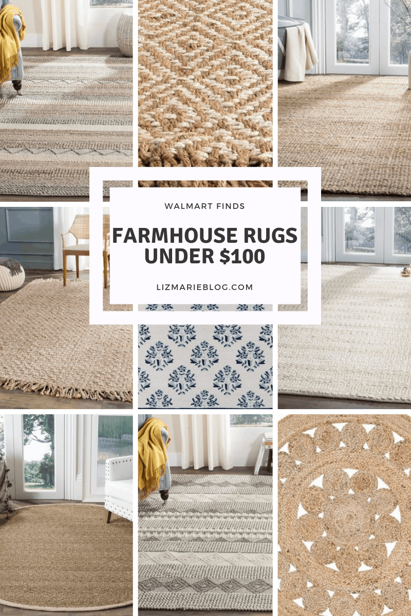 Farmhouse Rugs Under 100 Farmhouse Rugs Farmhouse Style Rugs