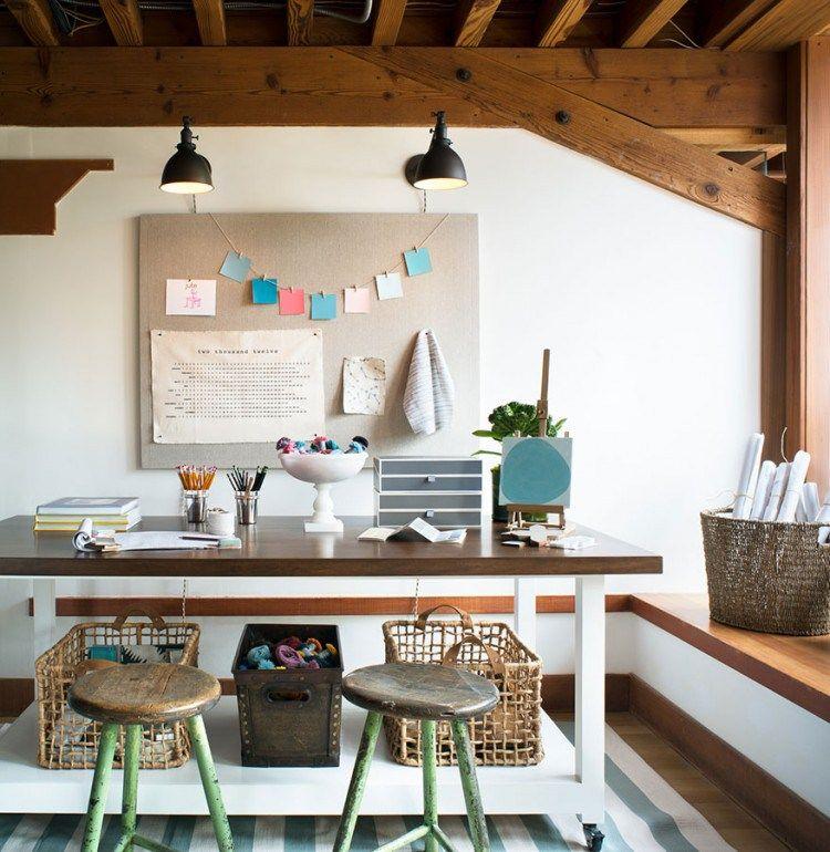25 Creative Workspace Ideas | Creative, Studio and Creative office space