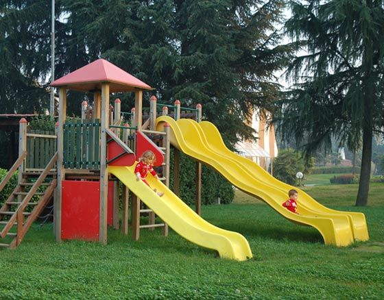 """Playgrounds are the favourite of the """"Little Humans"""" ;)"""