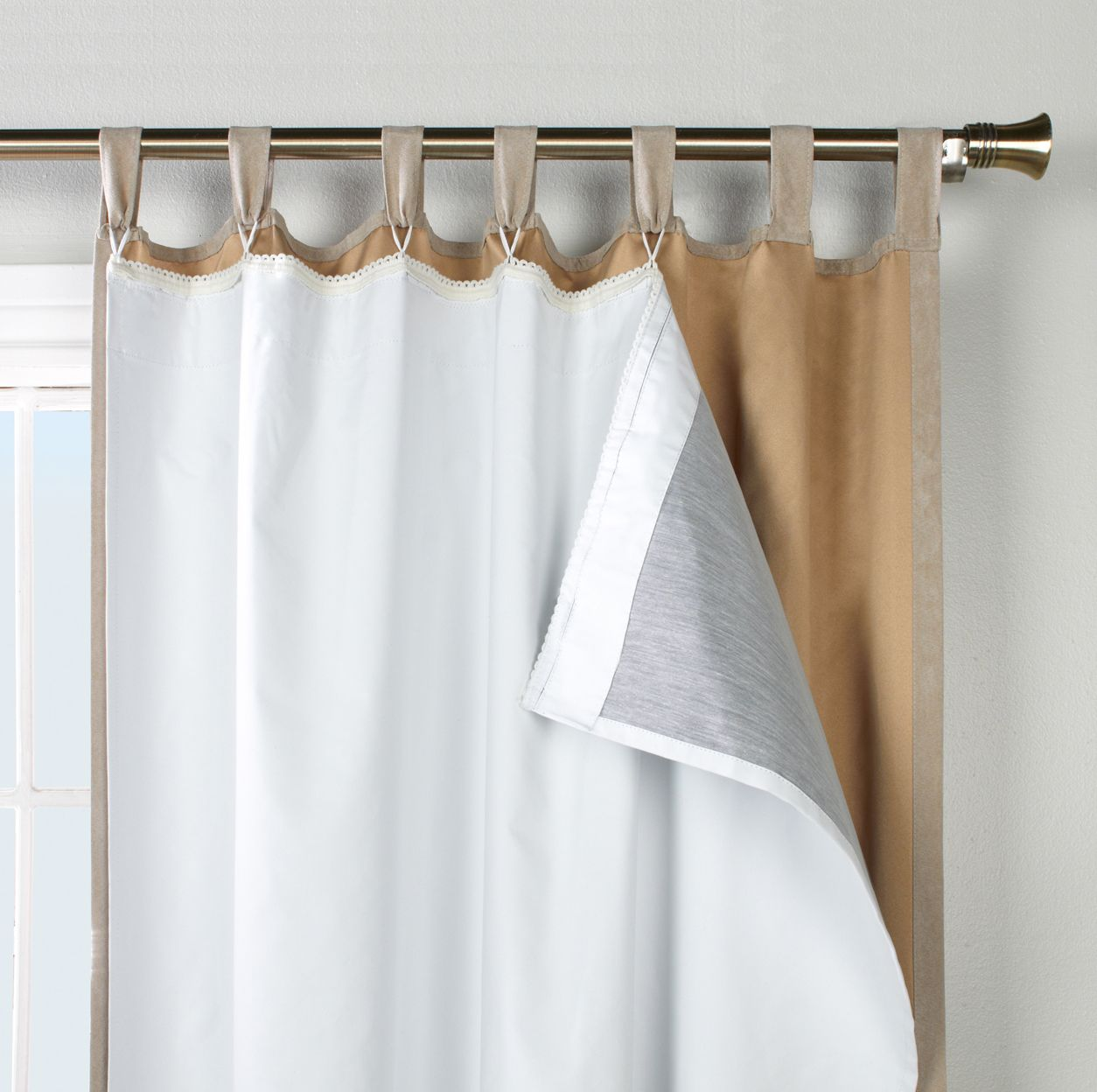 How To Make Your Own Tab Top Curtains In 2020 Insulated Curtains Stylish Curtains Insulated Blackout Curtains