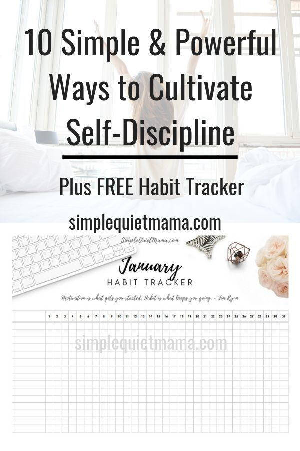 10 Simple and Powerful Ways to Cultivate Self-Discipline
