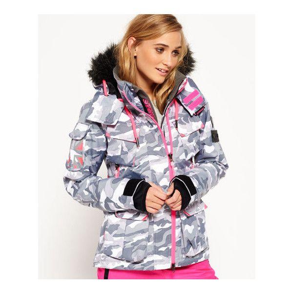 Superdry Tonal Camouflage Printスキージャケット
