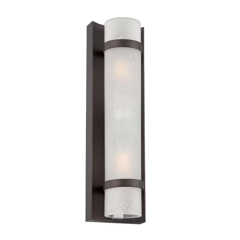 Chupp 2 Light Outdoor Flush Mount Outdoor Light Fixtures Outdoor Wall Lantern Bronze Light Fixture