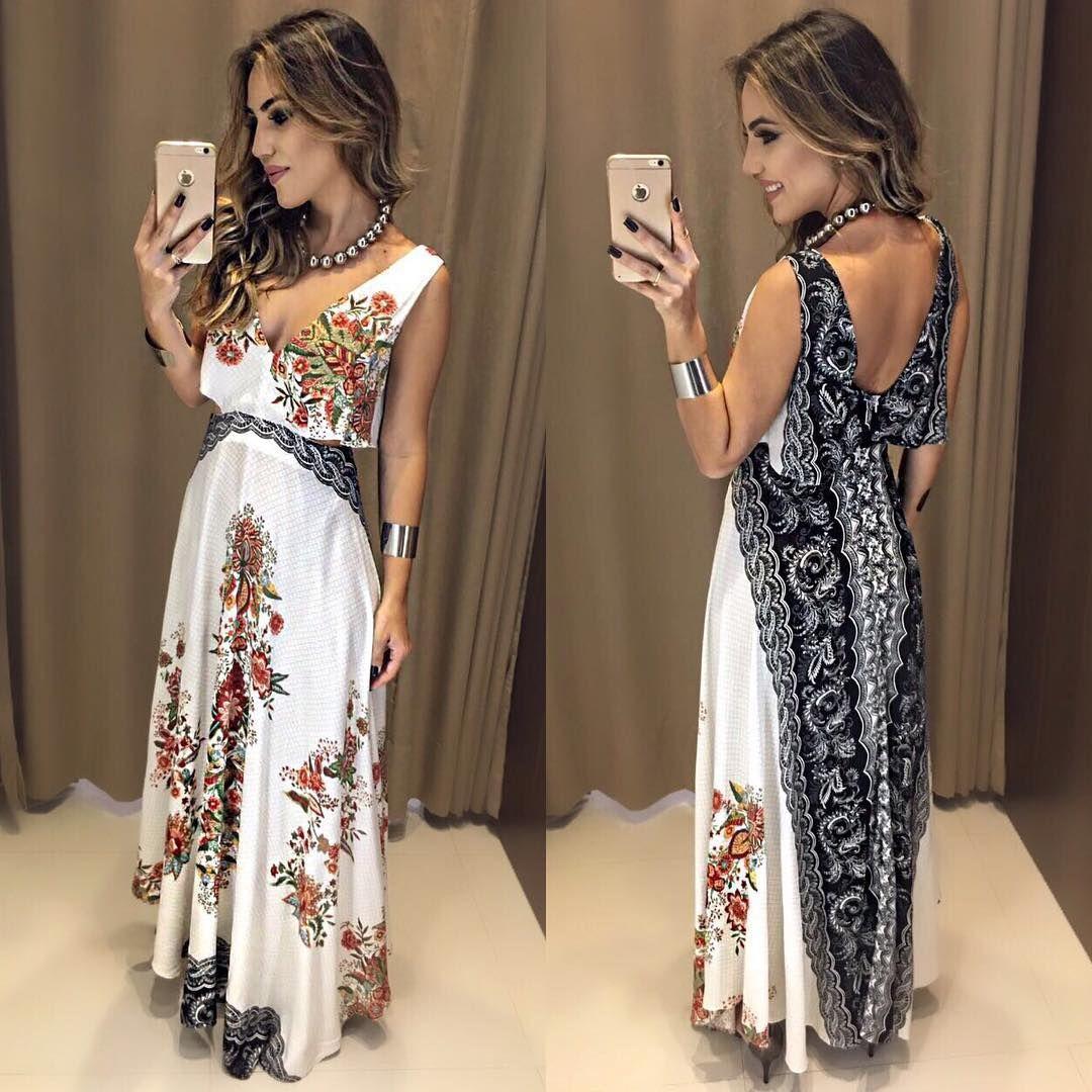 """5,687 Me gusta, 72 comentarios - Estação Store (@estacaostore) en Instagram: """"Mais um Divo da FARM! 💕 Vestido Emile  Compras on line: www.estacaodamodastore.com.br 📱Whats app:…"""""""