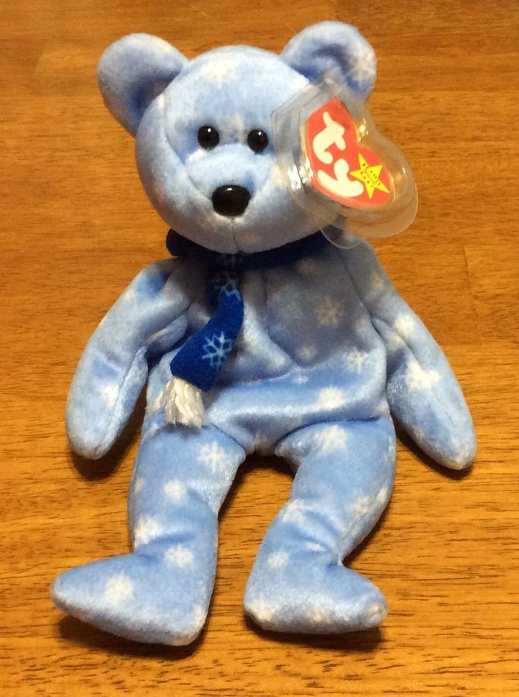 1ae873bd201 Ty Beanie Baby 1999 Holiday Teddy Bear Christmas Exc Condition Retired  Ty