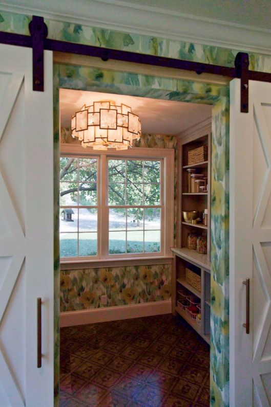 This is how you light a pantry! From Tamara Day\'s Bargain Mansions ...