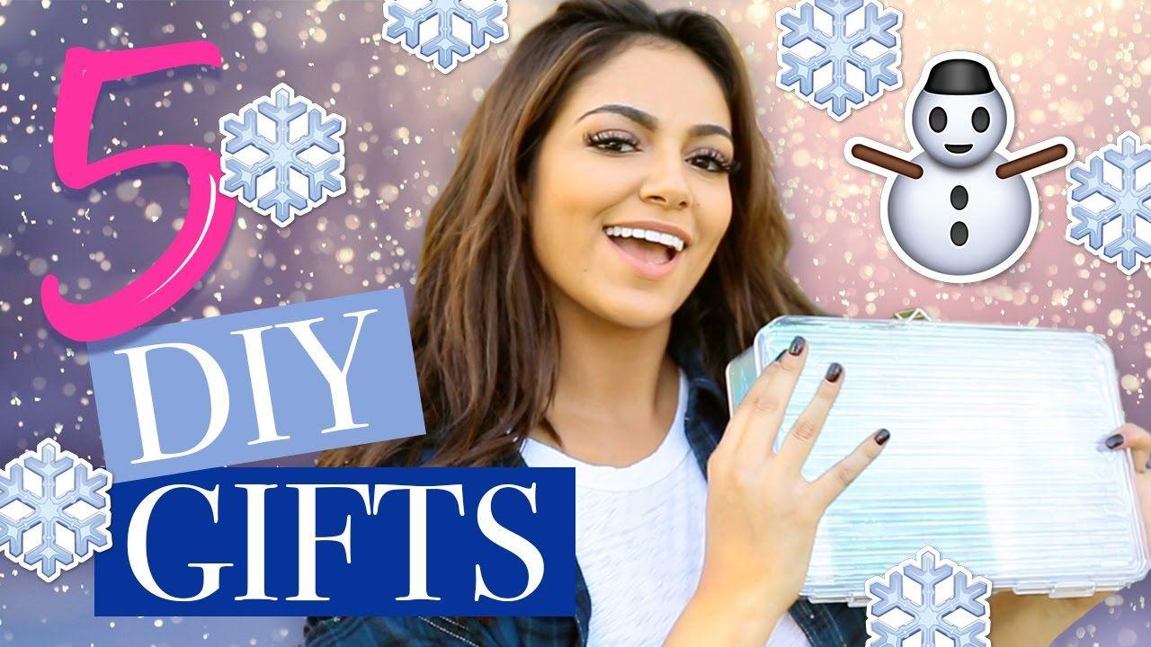 5 Holiday Diy Christmas Gifts Bethany Mota