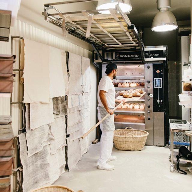 Obrador De La Panadería Turris En L Illa Diagonal Backers Interior De Panadería Panaderías Panadería