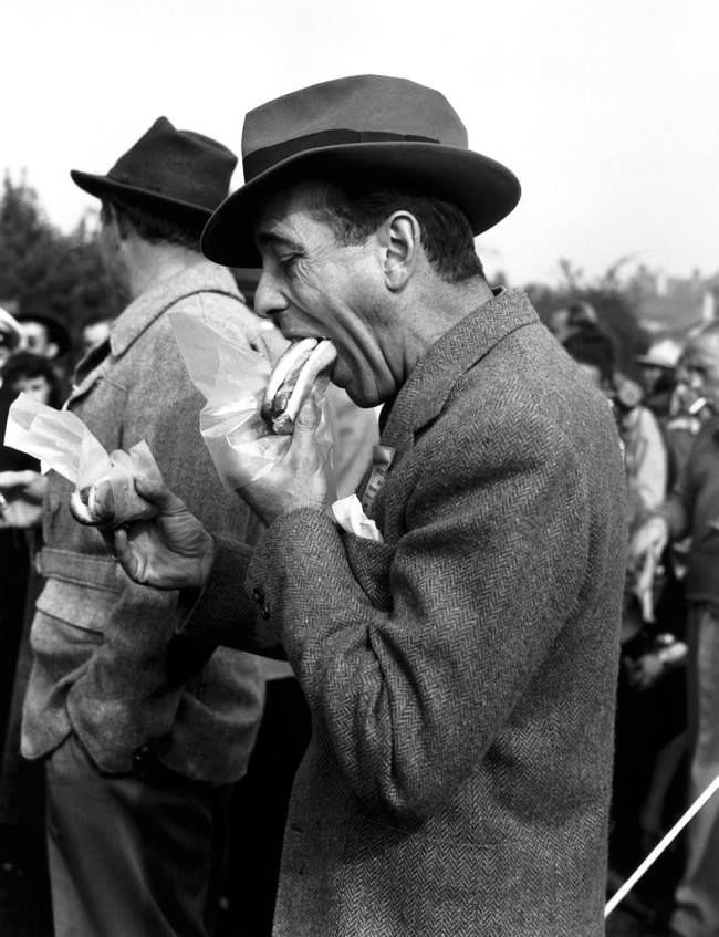 Don't Bogart that hot dog!