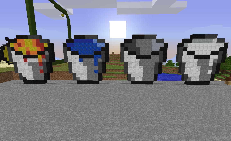 Minecraft Buckets  Minecraft, Minecraft pocket edition, Water bucket