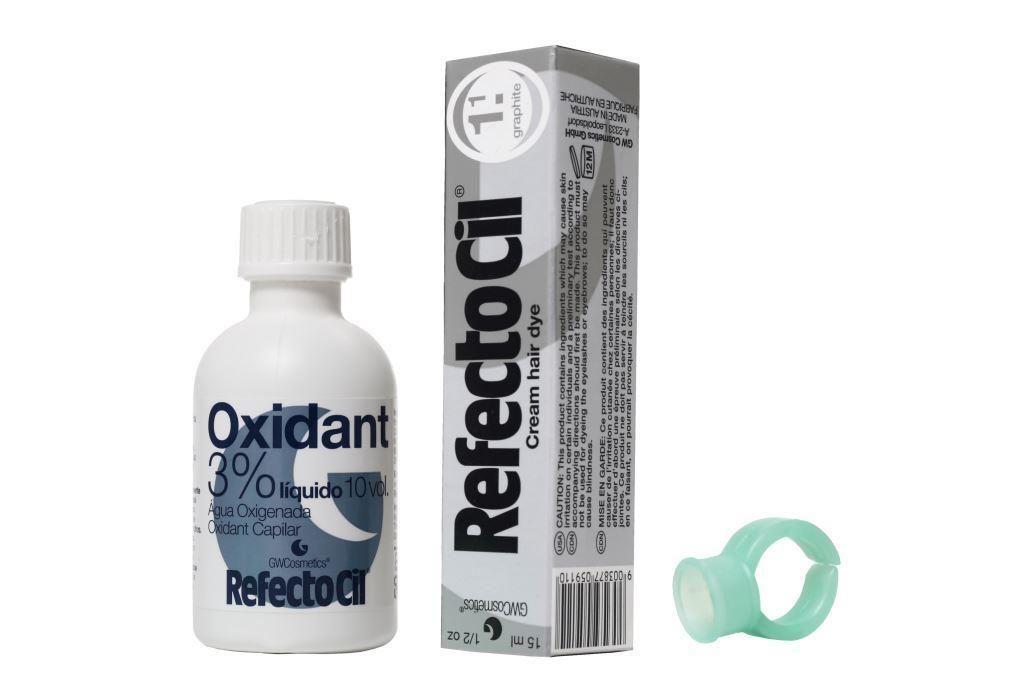 Refectocil é uma tintura que pigmenta os pelos das sobrancelhas e dos cílios deixando com uma cor muito bonita por longa duração