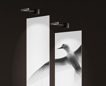Wandlamp Boven Spiegel : Deze wandlamp is geschikt om boven een spiegel of kunstwerk te