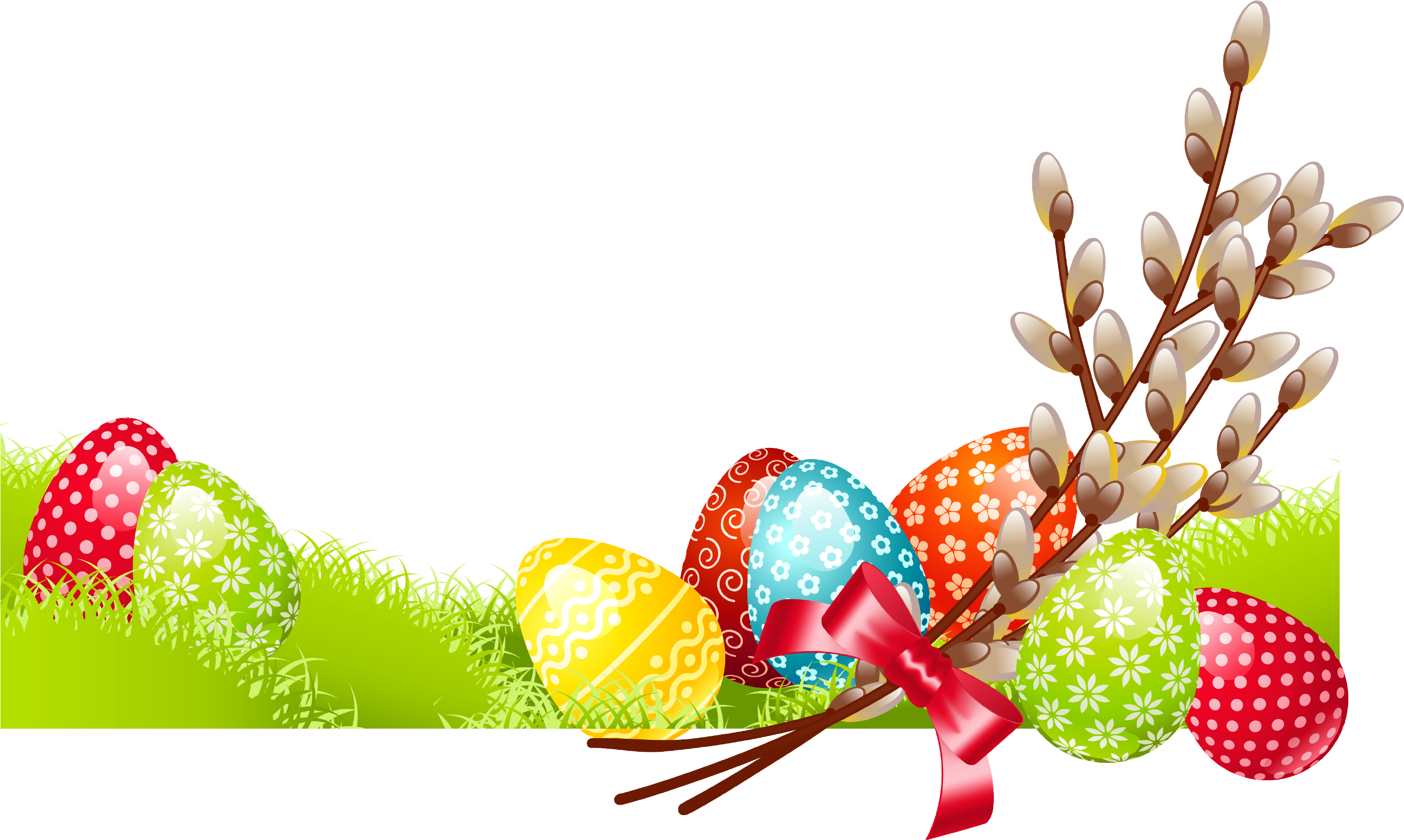 Clipart Easter Family Tree With Egg For Easter Png Transparent Png 2933x1790 Png Download Happy Easter Pictures Inspiration Happy Easter Pictures Clip Art
