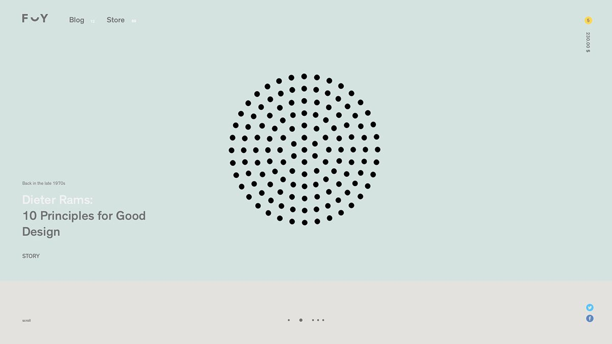 Website Design Ux Formerly Yes Store Concept Web Layout Inspiration Design Web Design