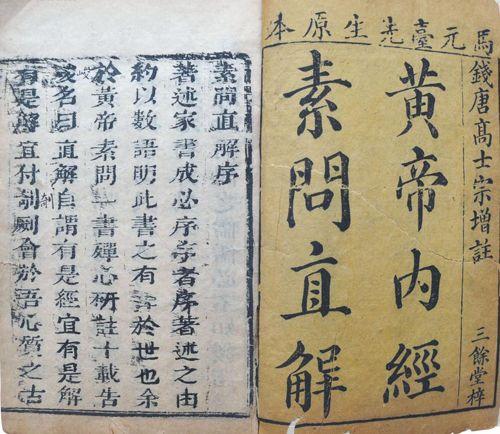 The Inner Canon of Huangdi, one of the 'top 10 classics on traditional Chinese medicine' by China.org.cn.