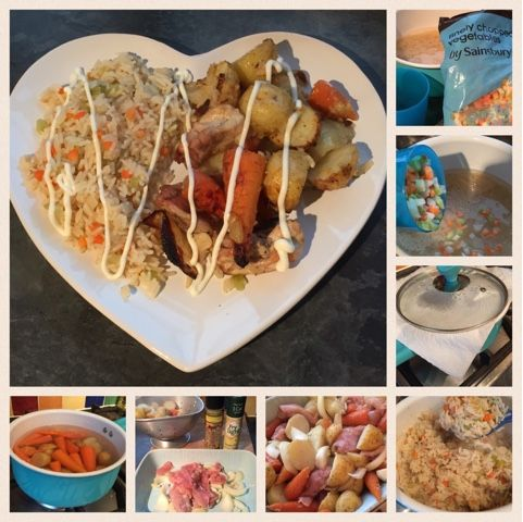 Sumptuous Sunday dinner with Slimming World. How to cook perfect easy rice