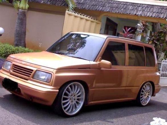 Modifikasi Suzuki Escudo Golden Desain Cars Concept