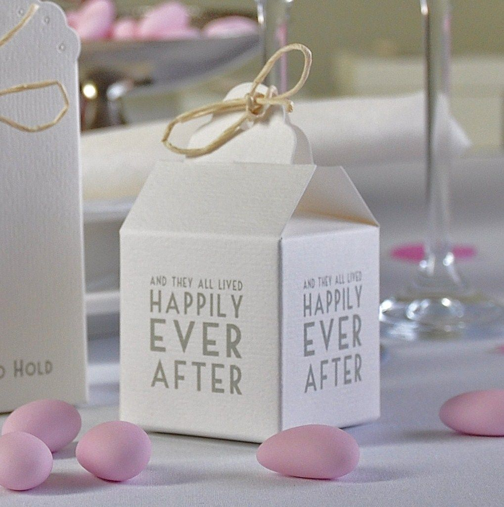 East Of India Happily Ever After Wedding Favour Boxes - By ...