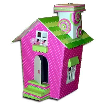 Manualidades Casitas De Carton Buscar Con Google Casitas De Carton Casas De Carton Casa De Carton