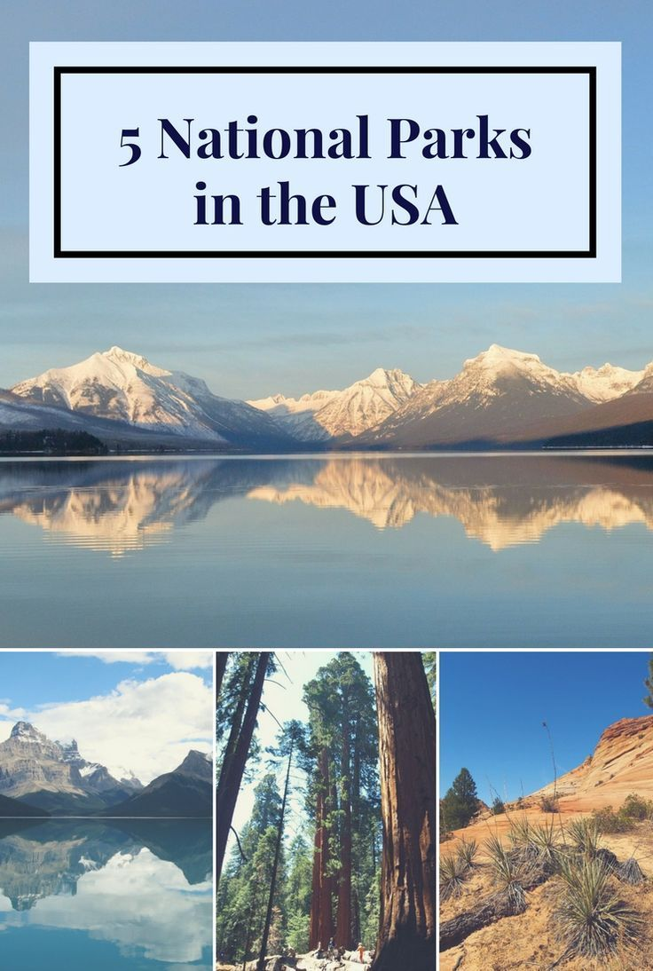 5 Stunning National Parks in the USA   US & Canada National Parks by ...