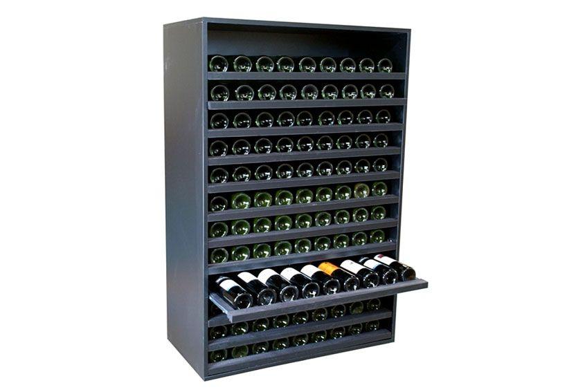 Botellero Merlot Super 108 Botellas Vino En 2020 Nevera De Vinos