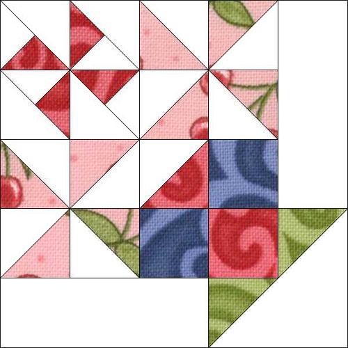 Block 5 | Basket quilt, Patchwork and Patterns : piecemeal quilts - Adamdwight.com