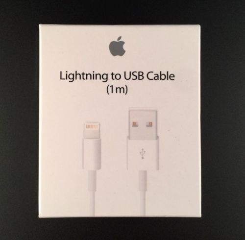 c65bac3d34f Find many great new & used options and get the best deals for Apple  Lightning to USB Cable - 1m, White (MD818ZM/A) at the best online prices at  eBay!