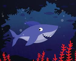 Gallery CUTE FREE PRINTABLE SHARK ART PRINT is free HD wallpaper.
