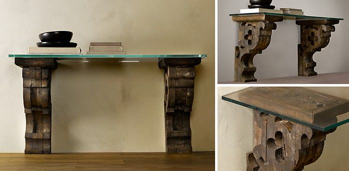 Corbel Occasional Table Collection Rh Furniture