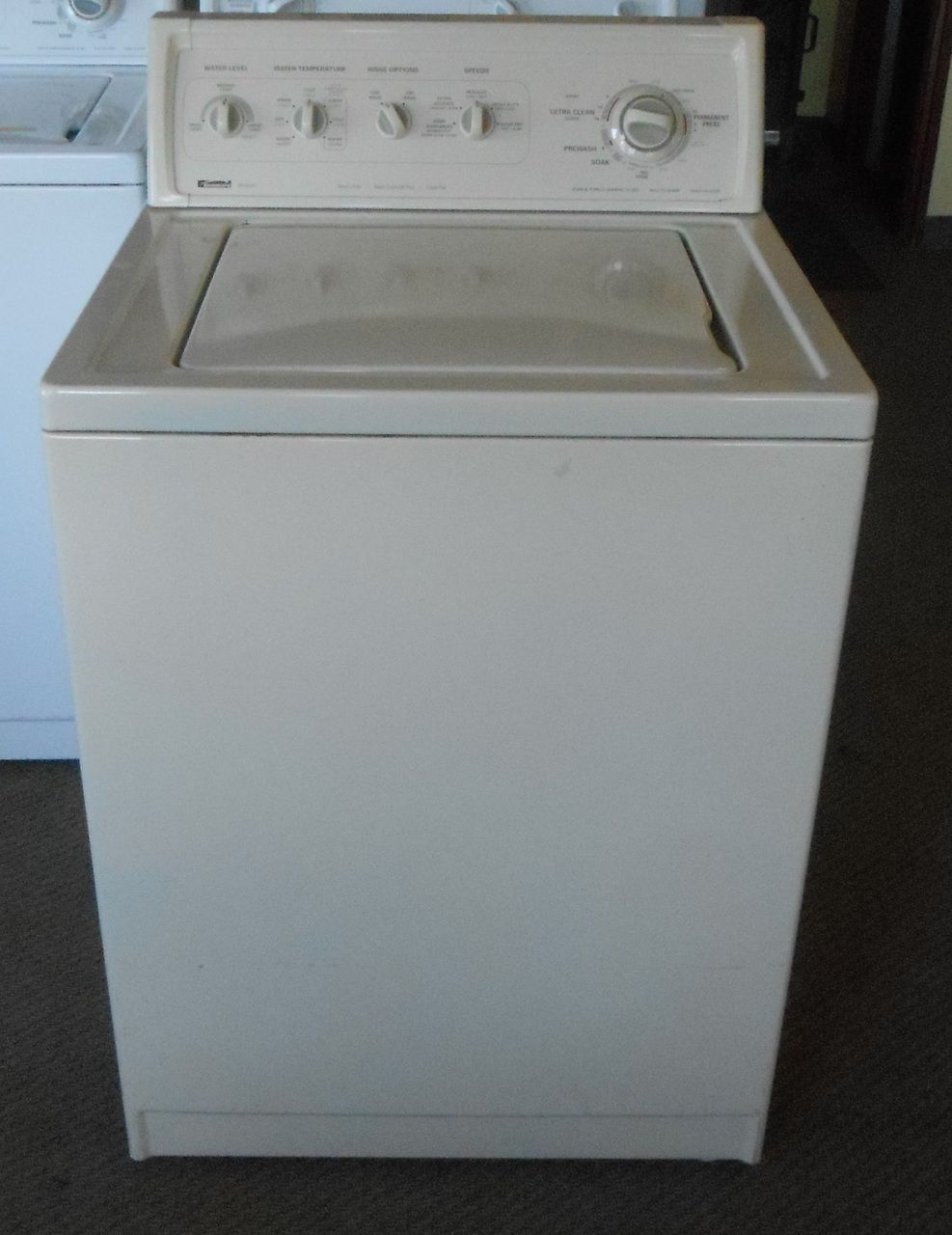 kenmore 90 series. appliance city - kenmore 90 series top load washer heavy duty super capacity auto temperature control 3 water levels 2nd rinse option speed bisque kenmore series r