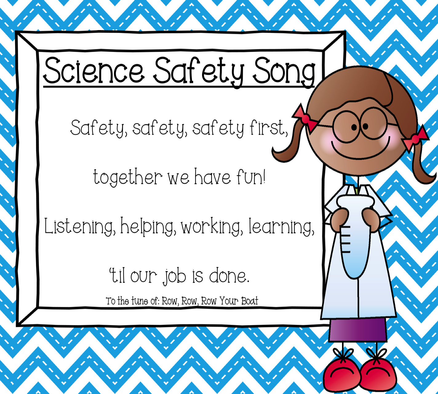 Science Safety Mini Unit K 5 Science Printables Science Posters