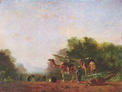Eugène Fromentin Arabes 1871 musée des beaux-arts, Budapest