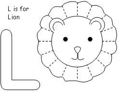 L Is For Lion Coloring Bingo Marker Pages A Theme From Making Learning